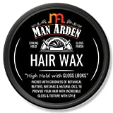 Man Arden Hair Wax - Strong Hold with Gloss Finish - 50gm
