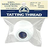 Brilliant Tatting Cotton Size 80 - Packaged-White