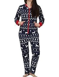 Amazon.fr   pyjama noel - Combinaisons et combishorts   Femme ... 95b814e7a50