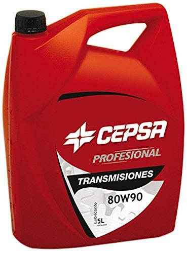 CEPSA 646373073 Mineralöl für Schaltgetriebe TRANSMISIONES 80W90, 5 Liter