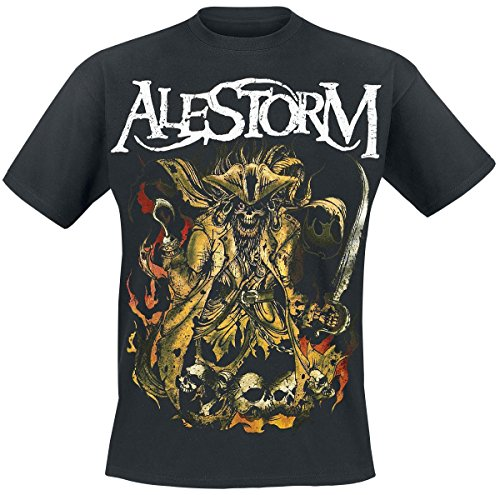 Alestorm We Are Here To Drink Your Beer! T-Shirt schwarz Schwarz