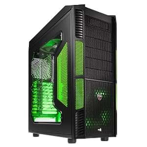 Aerocool Xpredator Evil Green Edi. Big-Tower Gaming-Gehäuse (XL-ATX, 6x 5,25 externe/interne, 1x 3,5 externe, USB 3.0)