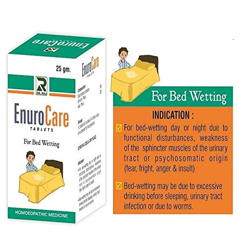 Enurocare, Homeopathy Bed Wetting Protector, 25gms, Pack of 3