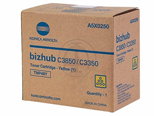 Preisvergleich Produktbild Konica Minolta Bizhub C 3350 (TNP-48 Y / a5x0250) - original - Toner gelb - 10.000 Seiten