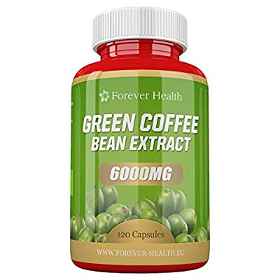 Green Coffee Bean Extract * MAX Strength Fat Burner * 120 Tablets LOSE UP TO 4.5 KILOS IN 4 WEEKS With These Super Strong 6000mg Diet Slimming Tablets ! Lose Weight and Slim Fast ! FREE UK DELIVERY & FREE DIET PLAN - 120 x Super Strong Diet Tablets by For