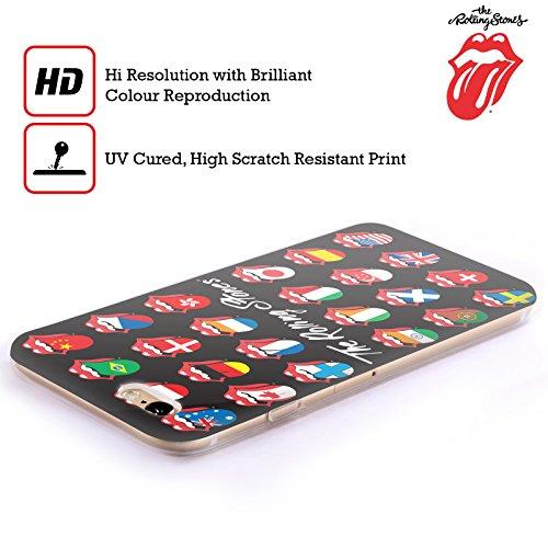 Offizielle The Rolling Stones Verzweifelte Zunge Lecken Kollektion Soft Gel Hülle für Apple iPhone 5 / 5s / SE Fahne Poster