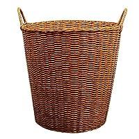 Xinxinchaoshi Laundry Baskets Dirty Clothes Storage Laundry Basket Plastic Rattan Toy Storage Portable Laundry Storage Basket Easily Transport Laundry Basket