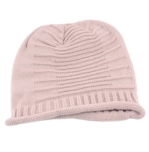Da. Wa lana cappello autunno/inverno caldo cappello caldo Blanco Claro
