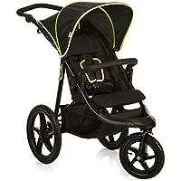 Hauck 274064 - Silla de paseo, color negro neon amarillo