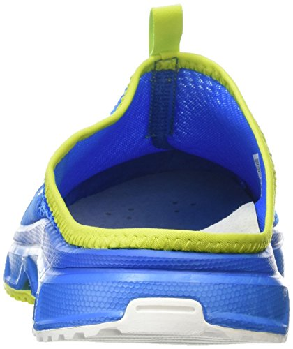 Salomon Herren Rx Slide 3.0 Pantoletten Blau (Bright Blue/Union Blue/Gecko Green)