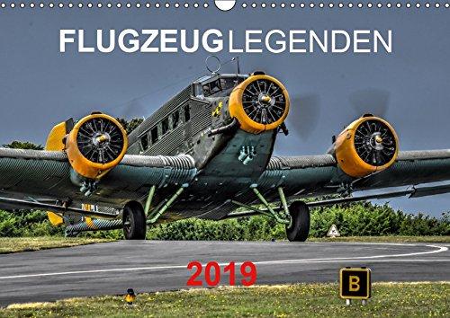 Flugzeuglegenden (Wandkalender 2019 DIN A3 quer): Historische und aktuelle Flugzeuge (Monatskalender, 14 Seiten ) (CALVENDO Technologie)