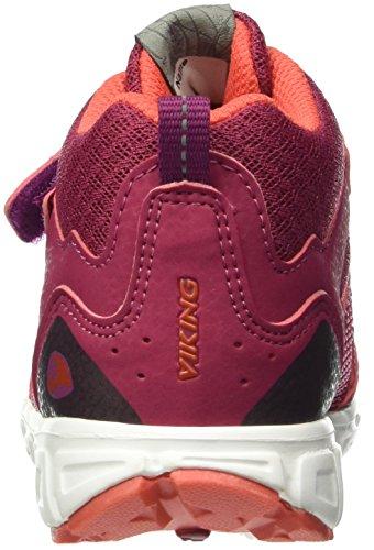 Viking Unisex-Kinder Hobbit Mid Hohe Sneakers Pink (Fuchsia/Coral 1751)