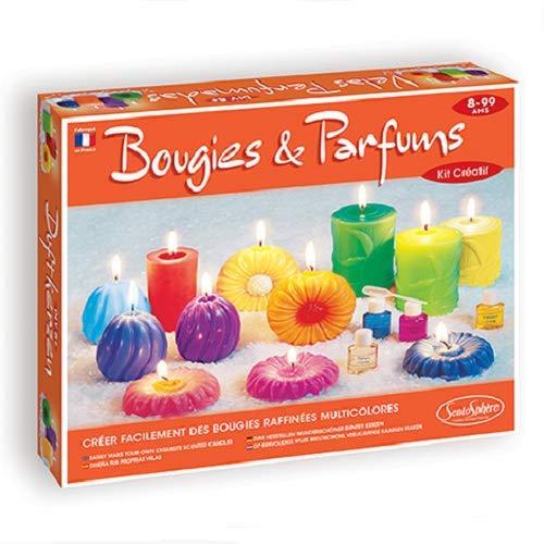 Sentosphère 00076 - set per creare candele profumate