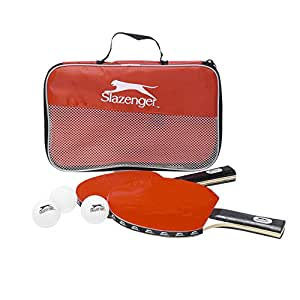 Slazenger - 22541 - Set De Tennis De Table - 6 Pièces