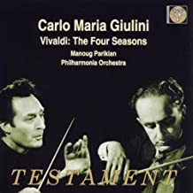 Vivaldi. Four Seasons by Parikian, Manoug, Giulini, Carlo Maria