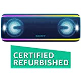 (Renewed) Sony SRS-XB41 Extra Bass Portable Waterproof Wireless Speaker with Bluetooth and NFC (Blue)