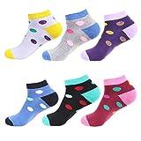 L&K Pack de 12 Calcetines Sneaker Cortos de deporte para Mujer Blanco 92221 Multicolor 35/38