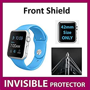 Protecteur d'écran INVISIBLE Apple Watch Sport iWatch (42mm Size) (Protecteur Avant inclus) Protection Grade Militaire Exclusive à ACE CASE