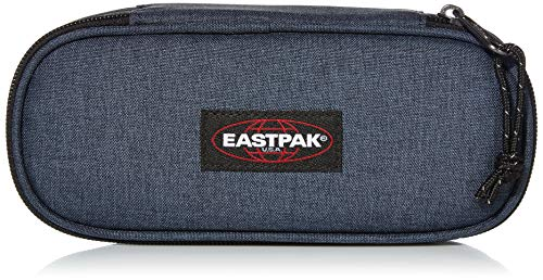 Eastpak Oval Single Trousses, 22 cm, Bleu (Triple Denim )