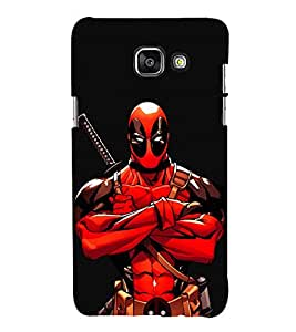 EPICCASE Deadpool terror Mobile Back Case Cover For Samsung Galaxy A7 (Designer Case)
