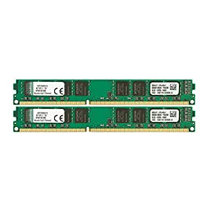 Kingston KVR13N9K2/16 RAM 16Go 1333MHz DDR3 Non-ECC CL9 DIMM Kit (2x8Go) 240-pin, 1.5V