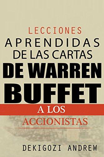 Lecciones aprendidas de las cartas de Warren Buffet a los accionistas por kigozi Andrew