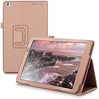 kwmobile Funda para Huawei MediaPad T1 10 - Carcasa Plegable de [Cuero sintético] para