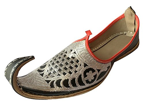 Step n Style mujeres Tradicional Dise?o Sandle Multi Punjabi US mojari indio Khussa jutti, color Multicolor, talla 39 1/3