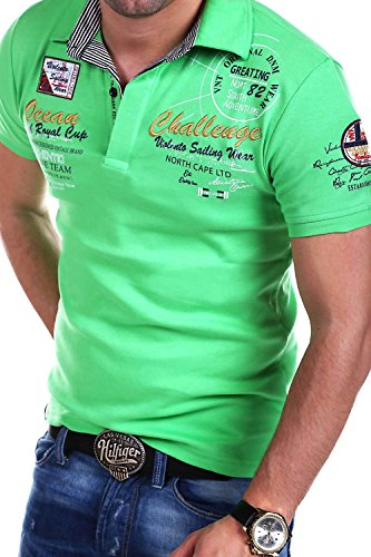 MT Styles Poloshirt CHALLENGE T-Shirt R-2728 Grün