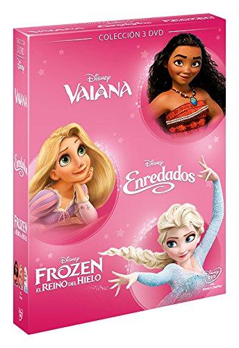 Pack: Chicas Vaiana + Enredados + Frozen [DVD]