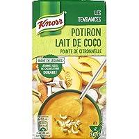Knorr soupe ptiron au lait de coco pointe de citronnelle La brique de 500ml - Prix Unitaire - Livraison Gratuit...