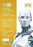ESET Smart Security 2016 - 3 Computer (Frustfreie Verpackung)