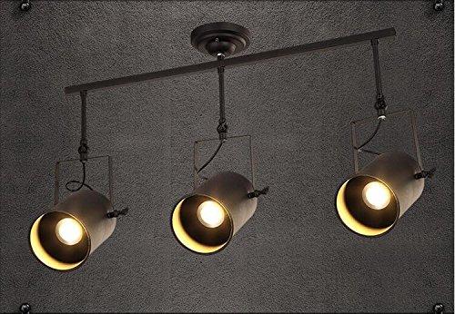 Suspensions Magasin de vêtements éclairage longue tige piste éclairage loft Ming Ming conduit rétro café industriel bar, 3
