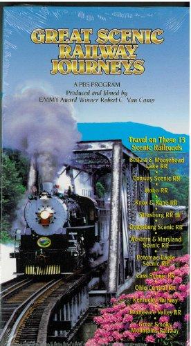 Preisvergleich Produktbild Great Scenic Railway Journeys: Travel 13 Railroads - Belfast & Moosehead Lake,  Conway,  Hobo,  Knox & Kane,  Strasburg,  Gettysburg,  Western & MD,  Potomac Eagle,  Cass,  OH Central,  KY,  TN Valley & Smoky Mt