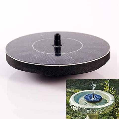 Soledi Set pompe à eau flottante avec panneau solaire pour fontaine de jardin/piscine