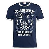 Männer und Herren T-Shirt Fass Mein Quad an (mit Rückendruck) Größe S - 8XL