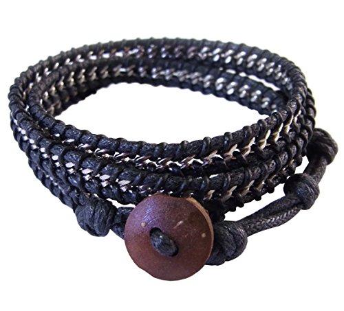 lun-na-asiatique-bracelet-wrap-fait-main-100-acier-inoxydable-chaines-couleur-noir-ficelle-de-coton