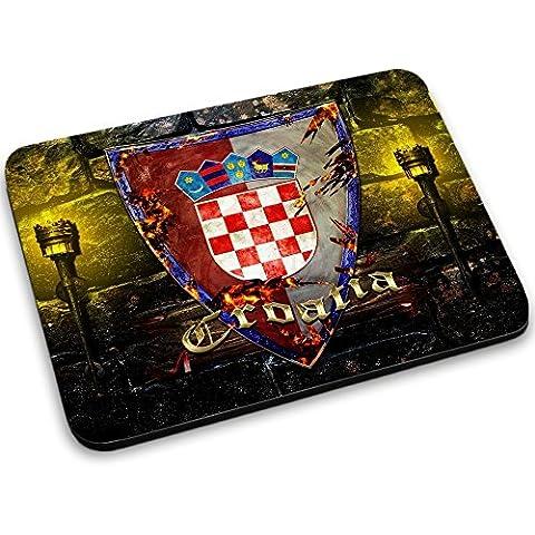 Escudo de armas colección 2, Custom adhesivo para MacBook piel de vinilo mangas de diferentes tamaños, neopreno, Coat of Arms Croatia, Mouse Mat
