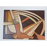 Wandbild - Abstrakt- Braun