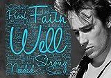 Jeff Buckley–Halleluja–Songtext Poster–Pop Star Legende Superstar King Best Farbe Foto Bild Einzigartige Print A4Wand Poster