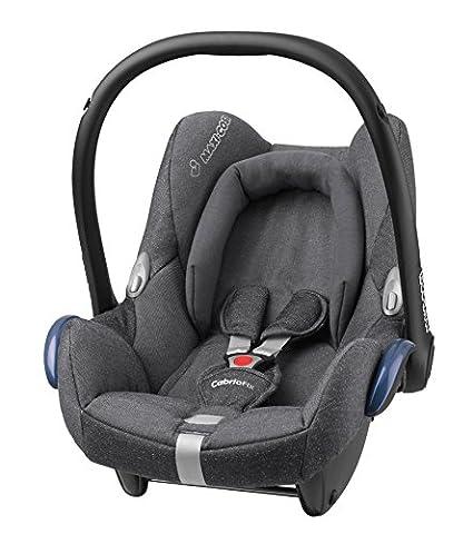 Maxi-Cosi Babyschale Cabriofix Gruppe 0+ (0-13 kg), sparkling grey, mit Isofix