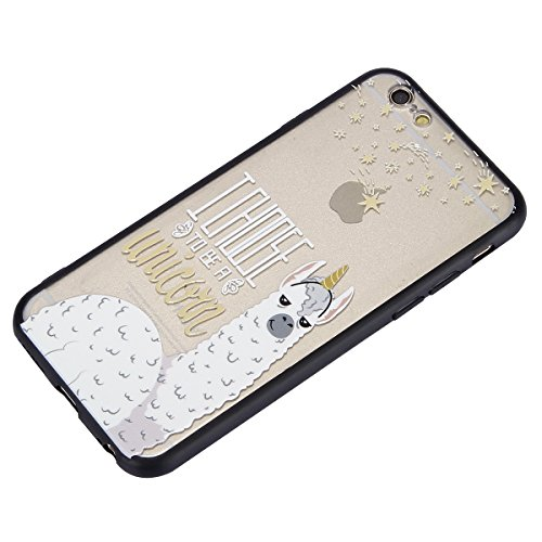 Custodia-Alpaca-Cover-iPhone-6-PlusiPhone-6S-Plus-Custodia-iPhone-6-PlusiPhone-6S-Plus-Ysimee-Opaco-3D-Sollievo-Hard-PC-Backcover-Custodia-Bordo-Gel-Silicone-Trasparente-Originale-Fantasia-Disegni-Ult