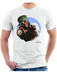 Tom Sheehan Official Photography - Flavour Flav Public Enemy White with Timepiece Men's T-Shirt