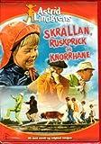 DVD Astrid Lindgren NORWEGISCH- Skrållan, Ruskprick og Knorrhane (Ferien auf Saltkrokan)