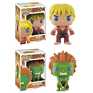 Funko Pop Pack Ken + Blanka (Street Fighter) Funko Pop Street Fighter