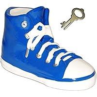 Preisvergleich für alles-meine.de GmbH 3-D Effekt _ Spardose - Schuh Sneaker / Sportschuh - Schuh - Blau - Incl. ..