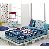 Saco Nordico Con Relleno Monsters (Cama 105 cm, Color Unico)