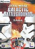Star Wars: Galactic Battlegrounds Saga - Galactic Battlegrounds and Clone Wars [import anglais]
