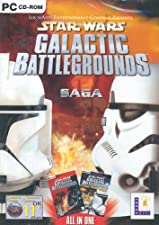 Star Wars: Galactic Battlegrounds Saga - Galactic Battlegrounds and Clone Wars (PC CD)