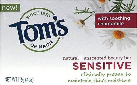 Tom's of Maine Natural Sensitive Bar Soap (Pack of 6) 120 ml